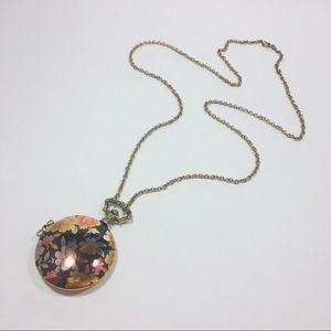 Jewelry - NWOT Reversible Locket Necklace